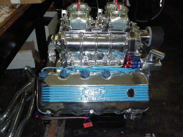 427 SOHC FAIRLANE GALAXIE SHELBY MUSTANG BLOWER 428