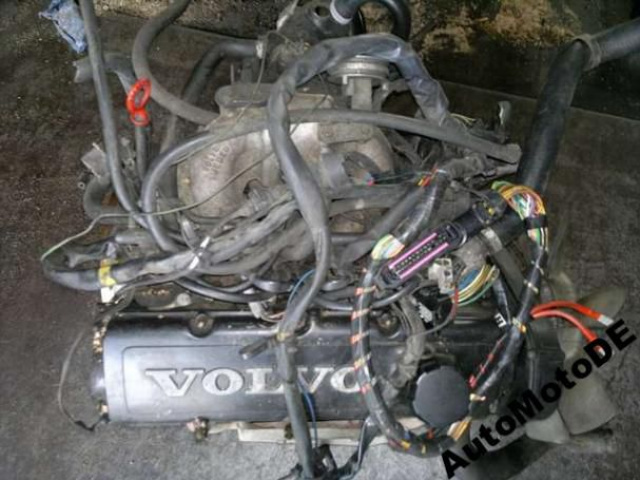 Volvo 740 двигатель