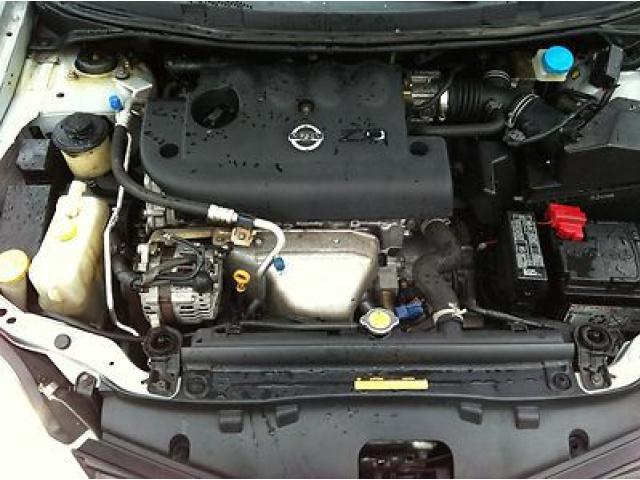 Фото двигателя ниссан примера