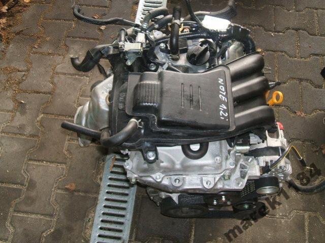 nissan note 2014 двигатель hr12