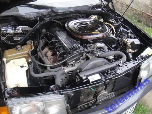 Фото двигателя мерседес 124