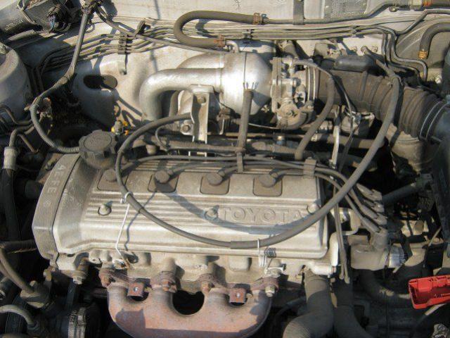 142Тойота двигатель 4 е