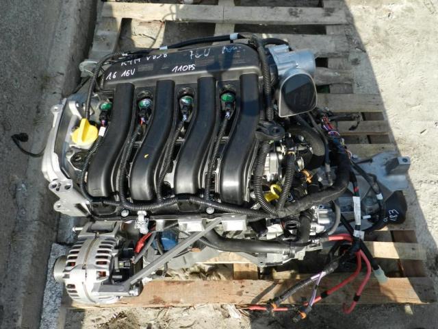 Какой двигатель в рено меган 3
