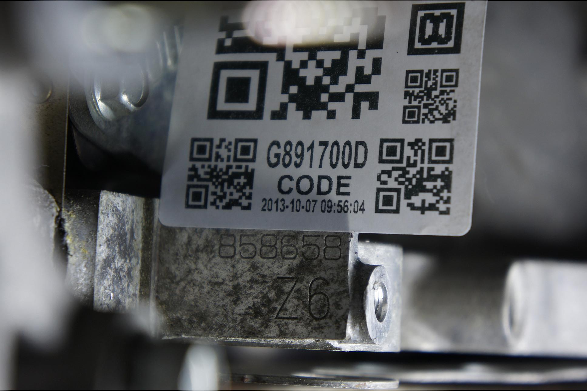 Мазда 6 где находится номер двигателя на