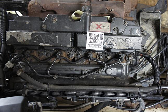 Фотография контрактного двигателя сверху MAN D0824LFL09  + МКПП
