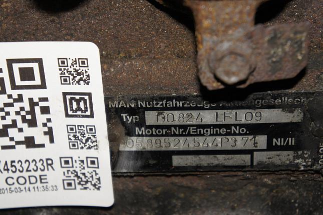 Номер двигателя и фотография площадки MAN D0824LFL09  + МКПП