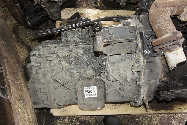 Двигатель вид с боку MAN D0824LFL09  + МКПП