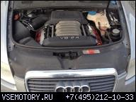 ДВИГАТЕЛЬ В СБОРЕ AUDI A6 C6 4F 2.4 БЕНЗИН V6 BDW
