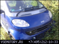 SMART FORTWO 0.8 CDI ДИЗЕЛЬ 2000R.НА ЗАПЧАСТИ
