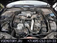 MERCEDES W221 W211 W164 CLS 3.0 V6 OM642 ДВИГАТЕЛЬ В СБОРЕ