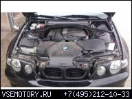 ДВИГАТЕЛЬ 1, 8 BMW E46 COMPACT 316 TI N42B18 В СБОРЕ