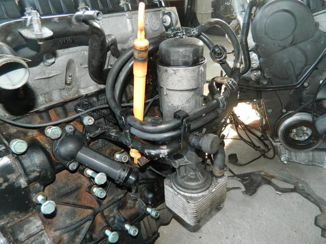 Теплообменник vw passat b5 avf 1.9 tdi маслоохладитель, теплообменники